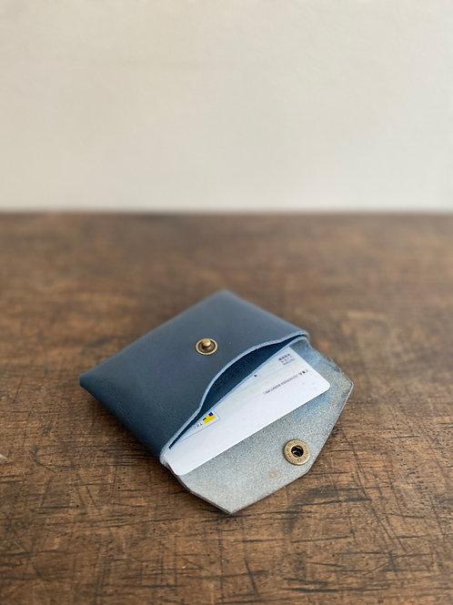 栃木レザーで作る一枚革 ダブルレイヤー・カードケース