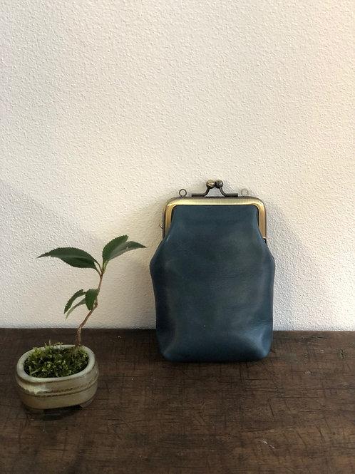 GAMAGUCHI シガレットケース 青緑