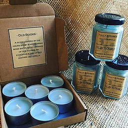 Tealights and 2 oz Candles