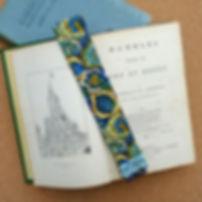 Luxury Fabric Bookmark