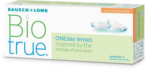 Bausch & Lomb Biotrue for Astigmatism - 30 Lenses