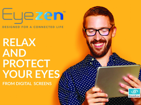 Relax and protect your eyes from screen time