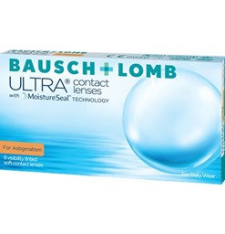Bausch & Lomb Ultra for Astigmatism- 6 Lenses
