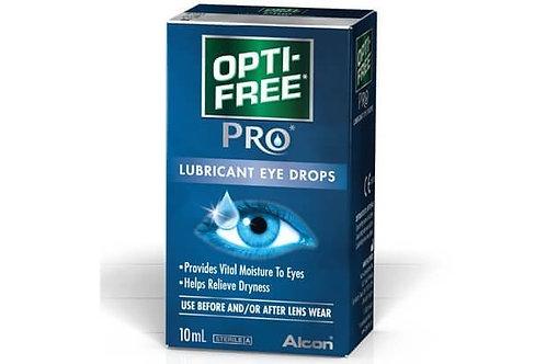 Opti-Free Pro Lubricant Eye Drops - 10ml