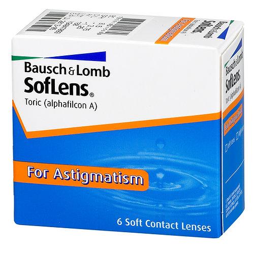Bausch & Lomb SofLens for Astigmatism - 6 Lenses