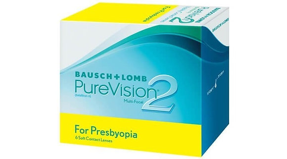 Bausch & Lomb PureVision 2 for Presbyopia - 6 Lenses