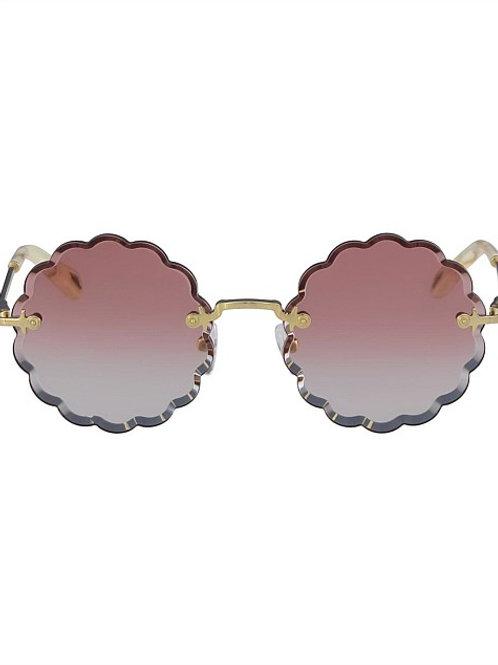 Rosie Petite (GRADIENT CORAL) Sunglasses