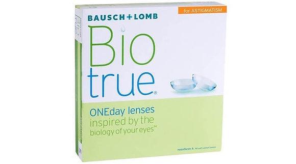 Bausch & Lomb Biotrue for Astigmatism - 90 Lenses