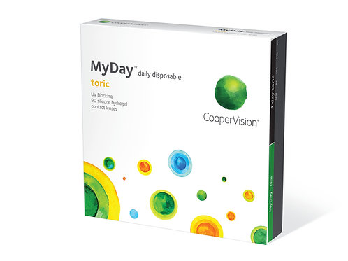 CooperVision MyDay Toric - 90 Lenses