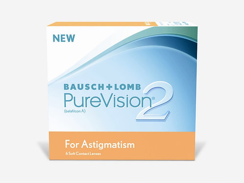 Bausch & Lomb PureVision 2 for Astigmatism - 6 Lenses