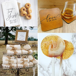 Fall 2019 Wedding Details: Ten Wedding Favors to Fall in Love With!