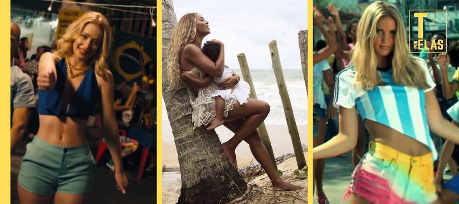 8 clipes de artistas internacionais que foram gravados no Brasil