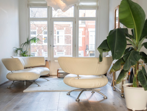 Styling van een appartement in Amsterdam
