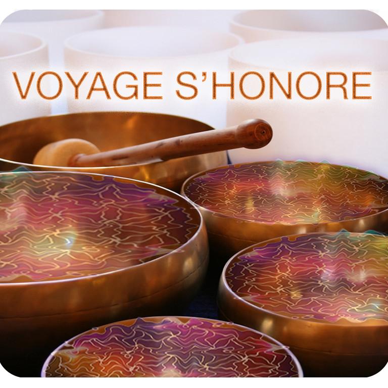 """Soirée méditation """"Voyage s'honore"""""""