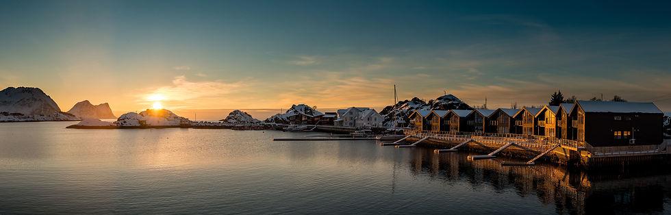 Hamn in winter sunset Gaute Bruvik _DSC3