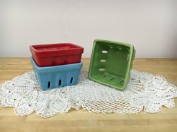 Ceramic Berry Containers