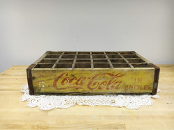 Vintage Wood Coke Crate