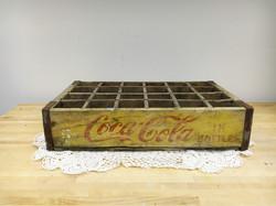 Vintage Wood Coke Crate