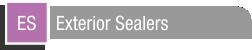 Exterior Sealers
