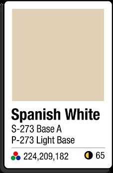 273 Spanish White