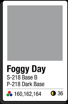 218 Foggy Day