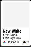 211 New White