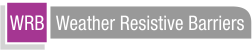 Weather Resistive Barriers