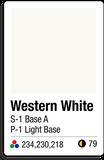 1 Western White