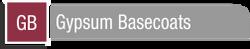 Gypsum Basecoats