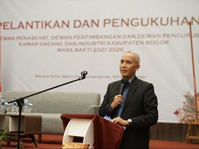 Di Pelantikan KADIN Kabupaten Bogor, PT BLST IPB University Ungkap Siap Berkolaborasi