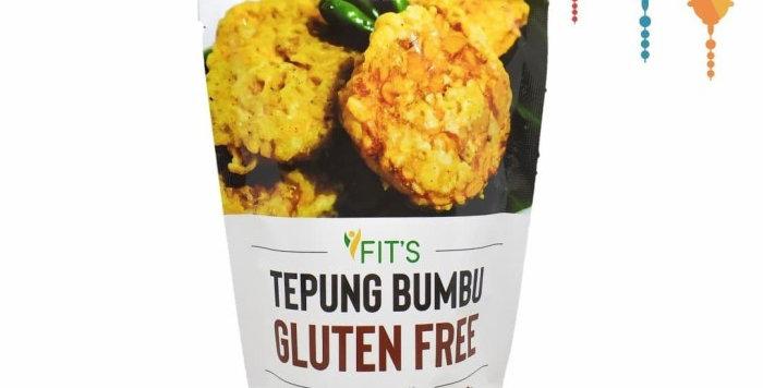 Tepung Bumbu Gorengan Gluten Free NON MSG 250gr FITS
