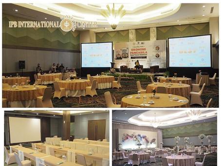 Ruang Meeting dan Wedding dengan standar protokol kesehatan di IPB Convention Center