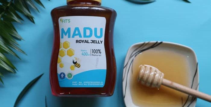 FITS Mandiri, Madu Royal Jelly Alami Premium HALAL Enak Murni 100%