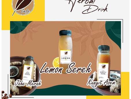 Kuatkan imunitas dengan rajin minum herbal drink milik Serambi Cafe IPB
