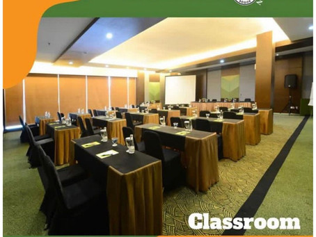 Classroom set-up for your meeting special room