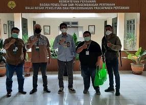 PT BLST IPB Sambangi Balai Besar Penelitian dan Pengembangan Pasca Panen Kementerian Pertanian