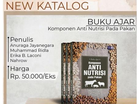 Buku Baru IPB Prees - Komponen Anti Nutrisi pada Pakan