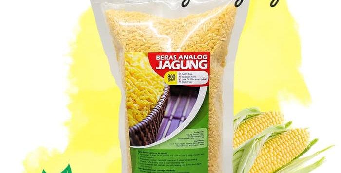 Beras Analog Jagung Rendah Gula Cocok untuk Diabetes 800gr