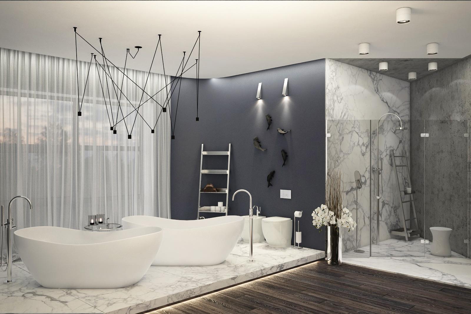 Ванная комната 46 м2