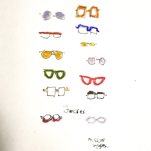 「Various glasses」(2018)