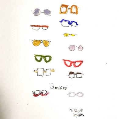 「Various glasses」(2018)