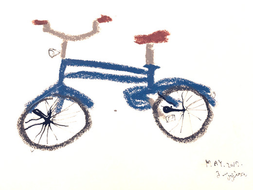 「My new bicycle」(2016)