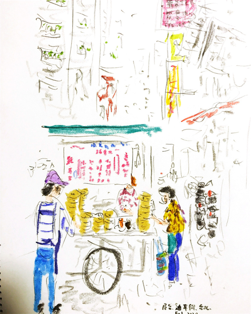 「a stalls in Taipei」(2020)