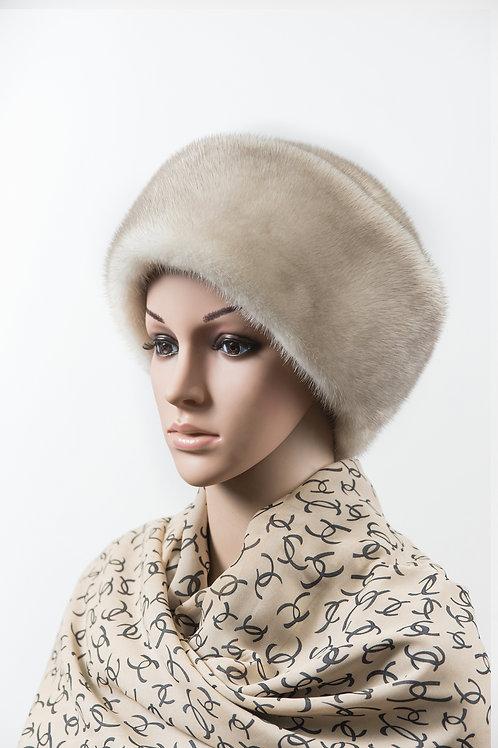 Женский головной убор из меха норки Боярка