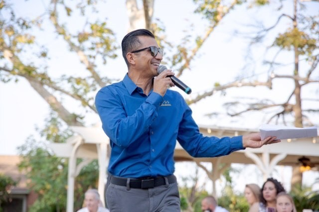 MC DJ Sal Cortez at Seven Sycamores Historic Ranch