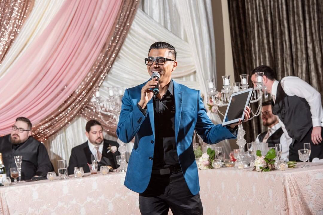 DJ Sal Cortez at the Grand 1401 Fresno Wedding DJ Expert