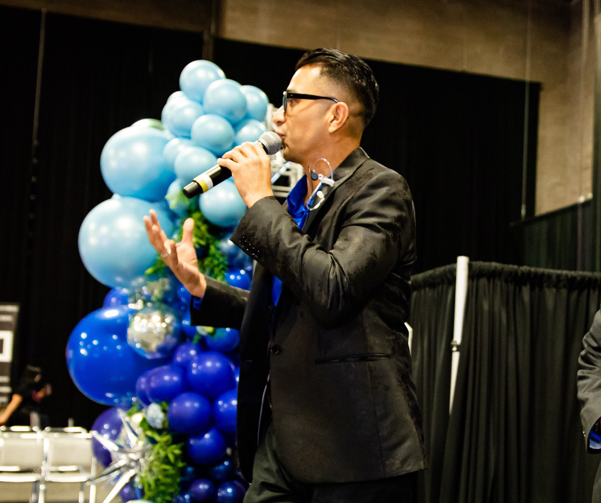 Wedding Entertainment Expert Sal Cortez At Blissfully Yours Wedding Expo