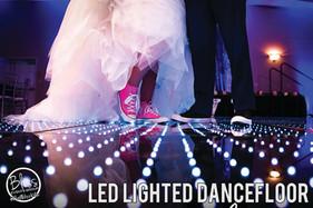 Lighted Dancefloor Fresno DJ Wedding Bli