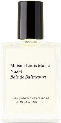 MAISON LOUIS MARIE - NO. 4 PERFUME OIL - 15ml