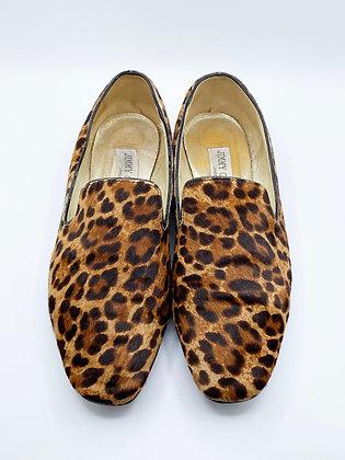 Jimmy Choo Leopard Loafer